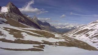webcam - vue du Val Vény depuis la casermetta du col de la Seigne